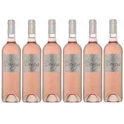 Vin rosé Château de la...